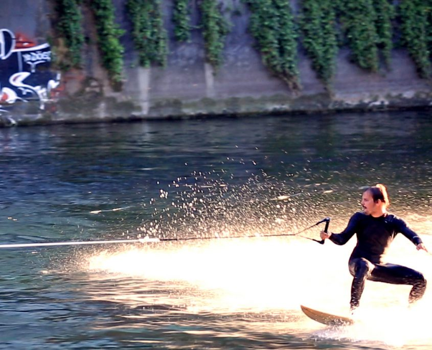 Nahaufnahme Surfer